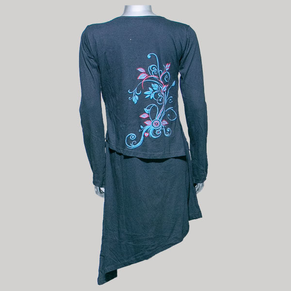 Dress printed