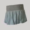 Balloon miniskirt hand loom cotton