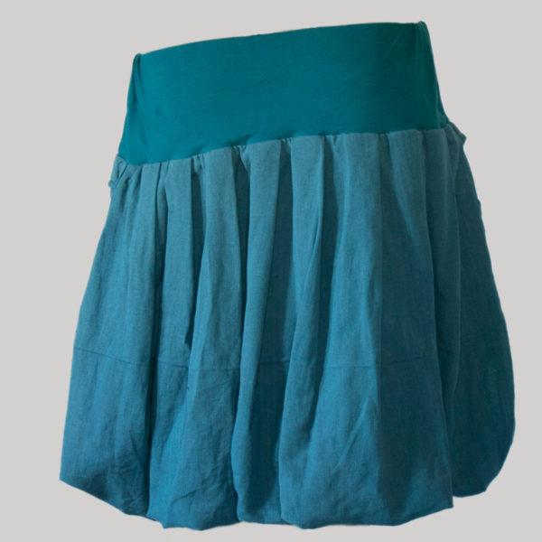 Balloon skirt hand loom cotton