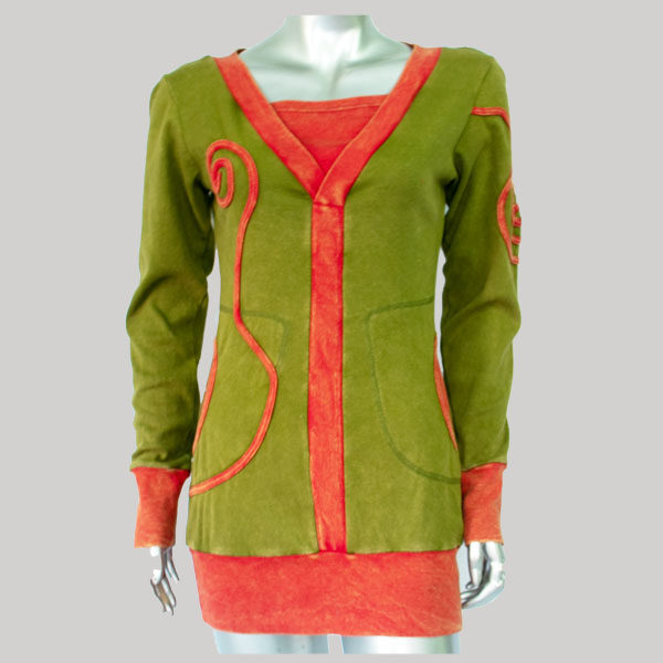 Dress cotton rip multi color