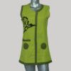 Dress sleeveless Nepali hand loom soft cotton
