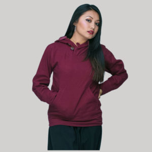 hoody cotton fleece with kangaru pocket