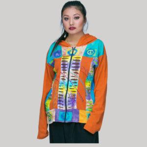 jacket rib tidy & block print