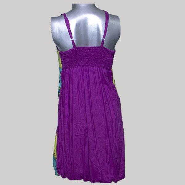 Tank dress printed cotton
