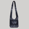 Women's garments heavy cotton side bag