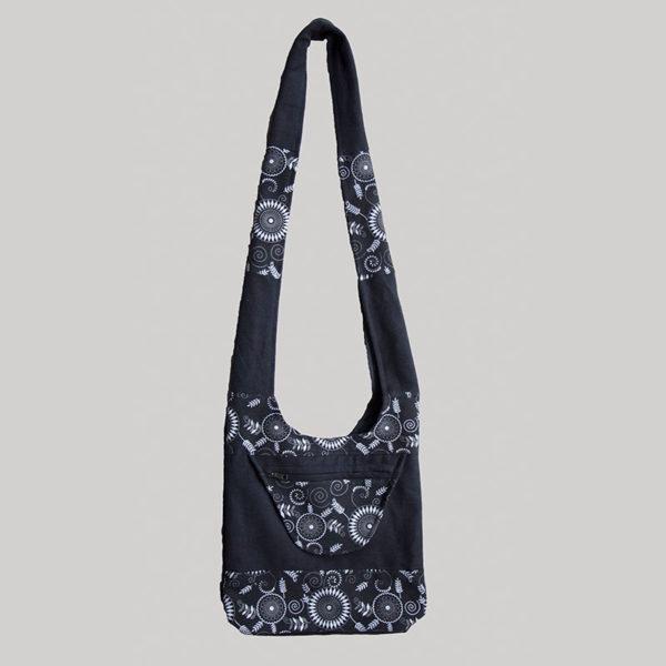 Women's garments heavy cotton side bag