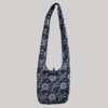 Garments printed outline heavy cotton embroidery side bag