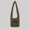 Garments cross body stripes side bag