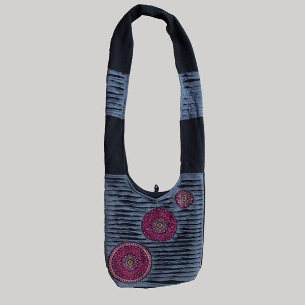 Women's garments symmetrical razor heavy cotton Side bag