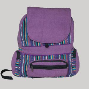Garments Ghere flap heavy cotton Bag pack