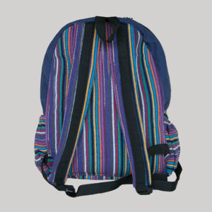 Garments symmetrical razor stripe Bag pack