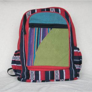Garments striped heavy cotton bag pack