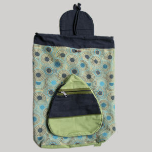 Garments Printed flap Bag pack