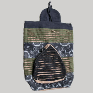 Garments Symmetrical razor cut Flap Bag pack