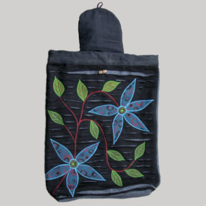 Garments flower Embroidery string bag pack
