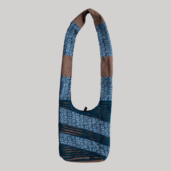 Women's garments shopping printed side bag