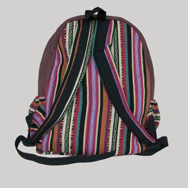 Garments Ghere hand loom printed razor bagpack