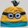 Minion motif designed cap