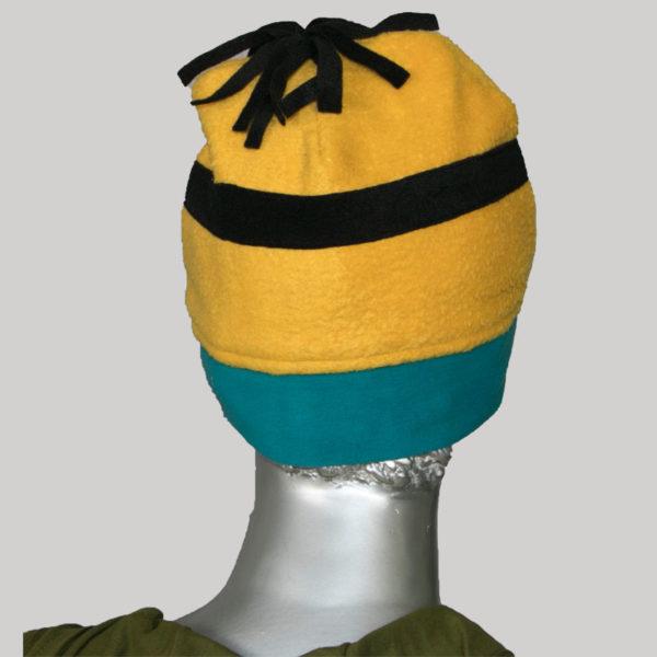 Minion motif designed cap