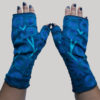 Women's gloves polar fleece with tree motif RE