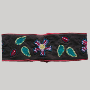 Flower cut out hand work women's headband