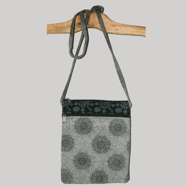 Women's passport bag with prints