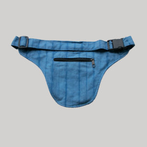 Ti-die hand loom garments belt pouch