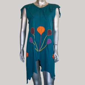 Women's Garments pix-elated Balloon hand work Dress