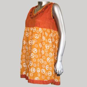 Women's Nepali Khadar printed RE Dress