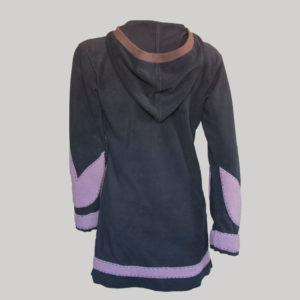 Women's polar fleece jacket (Black)