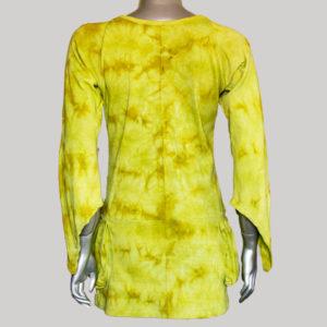 Women's rib ti-die garments Dress