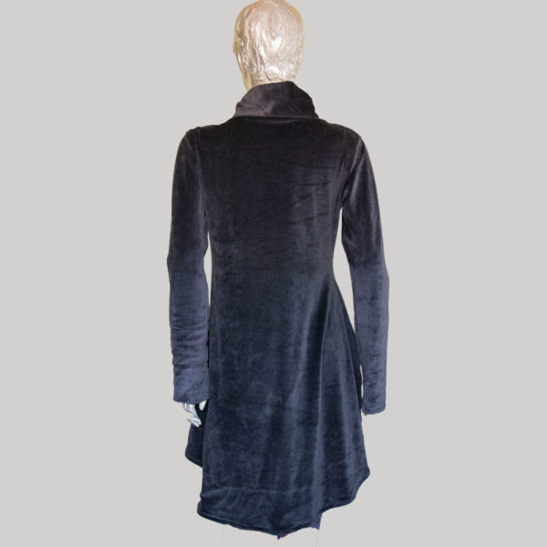 Women's garments velour Dress