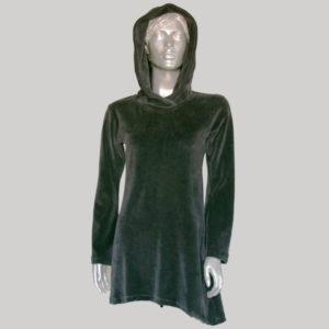 Women's pix-elated hoodie dress