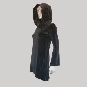 Women's pix-elated hoodie dress