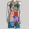 Women's multi colored ti-die Tank Dress