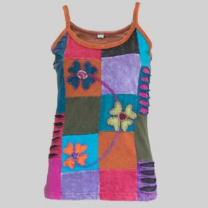 Women's Garments asymmetrical razor jersey Tank top