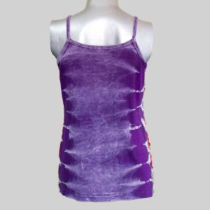 Women's Garments ti-dye razor Tank Top