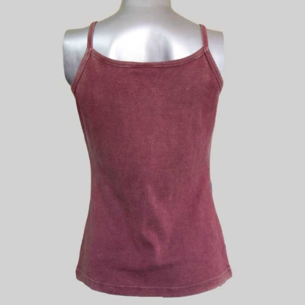 Women's Garments sleeveless rib Tank Top
