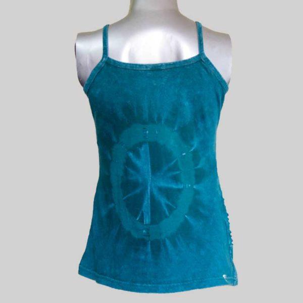 Women's Garments ti-dye razor Tank Top