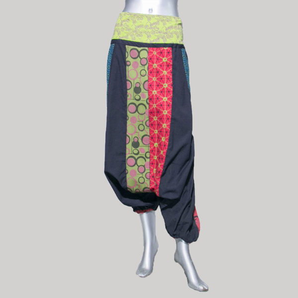 Garments hand loom soft printed Trouser