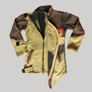 Children's mix patches stone wash Jacket