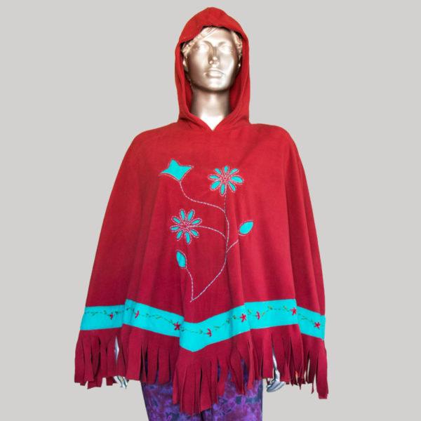 Women's Garments flower hand work Fringes Panchu