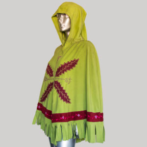 Women's garments hand worked Fringes Panchu