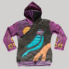 Children's Bird Hand work Hoodie