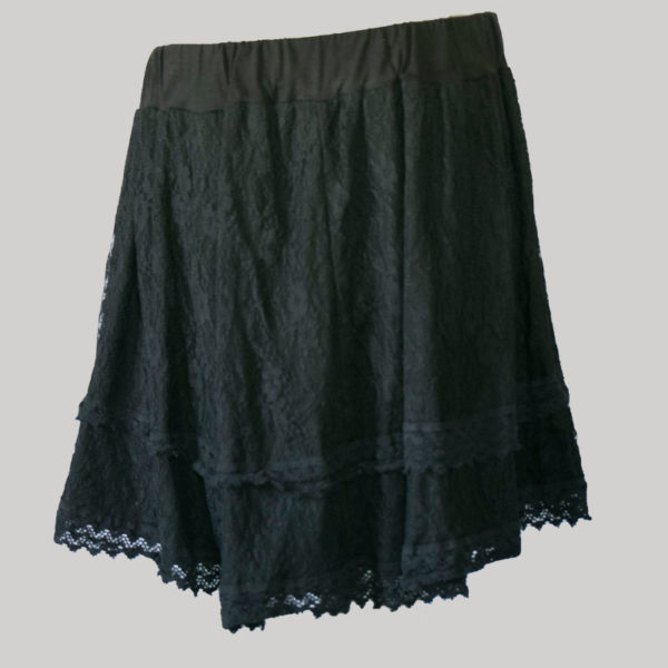 Women's a-lined net fabric Garments Skirt