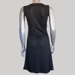Women's symmetrical razor cut out Tank dress