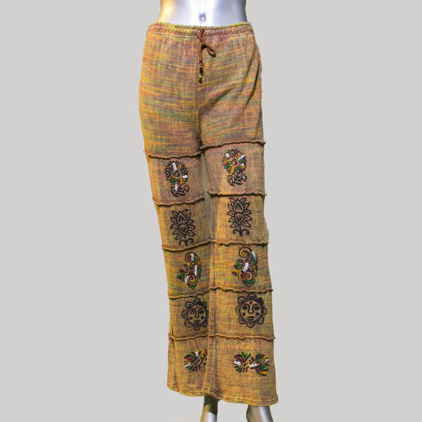 Women's garments knitted trouser
