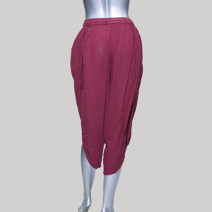 Women's garments hand loom soft Trouser