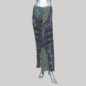 Women's garments hand work Trouser