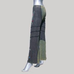 Women's garments hand work Trouser